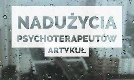 nadużycia psychoterapii
