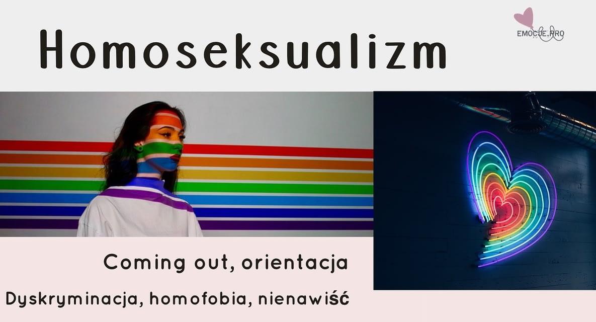 Homoseksualizm, coming out, homofobia, dyskryminacja, nienawiść