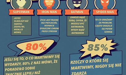 Infografika: jak być mniej zestresowanym